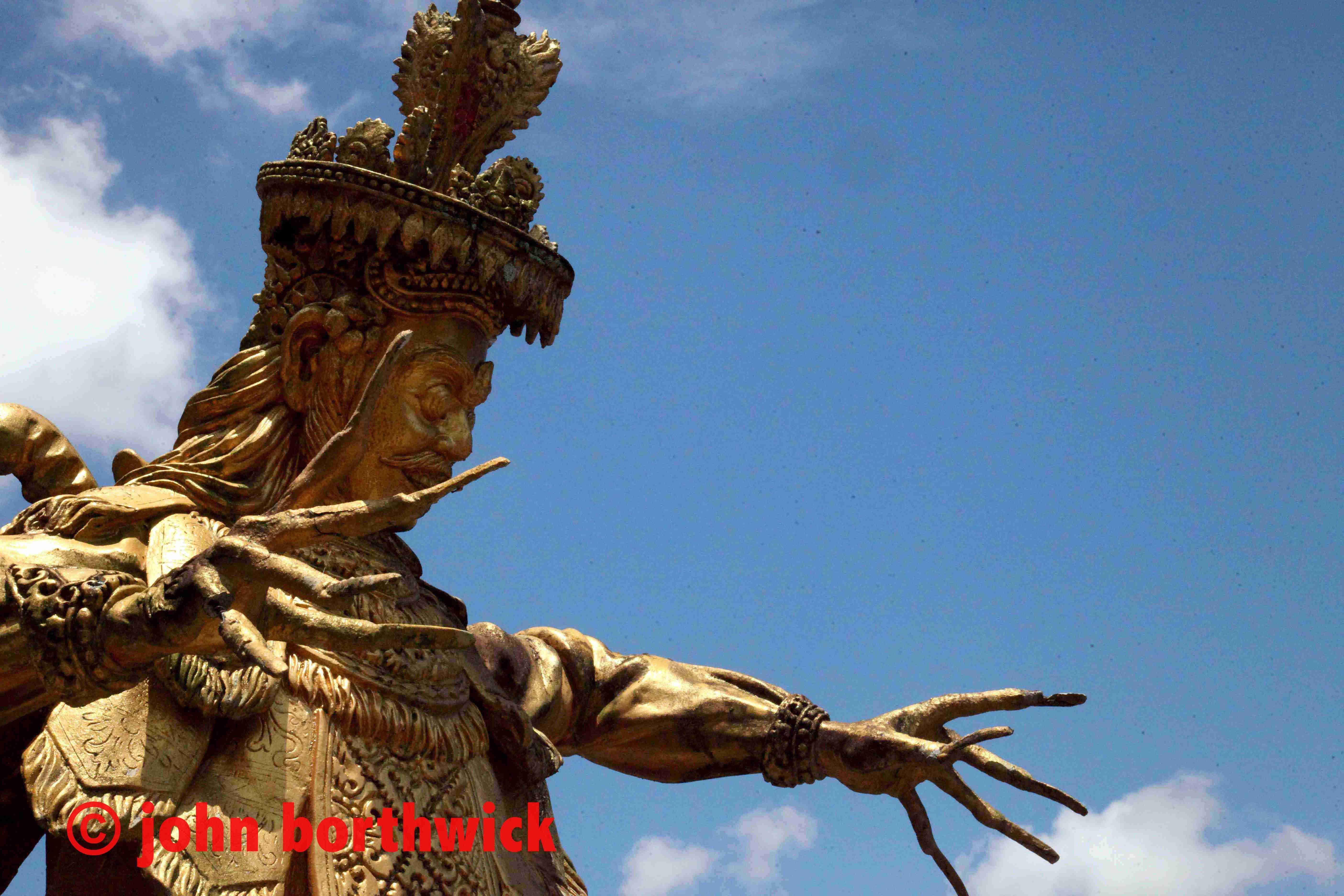 The Demon Slayer Of Kuta By John Borthwick Place Oddity