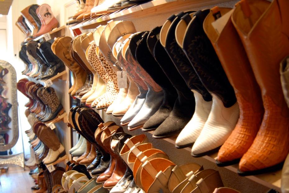 Santa Fe boot shop