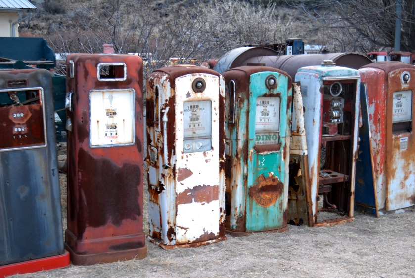 Santa Fe gas pump graveyard