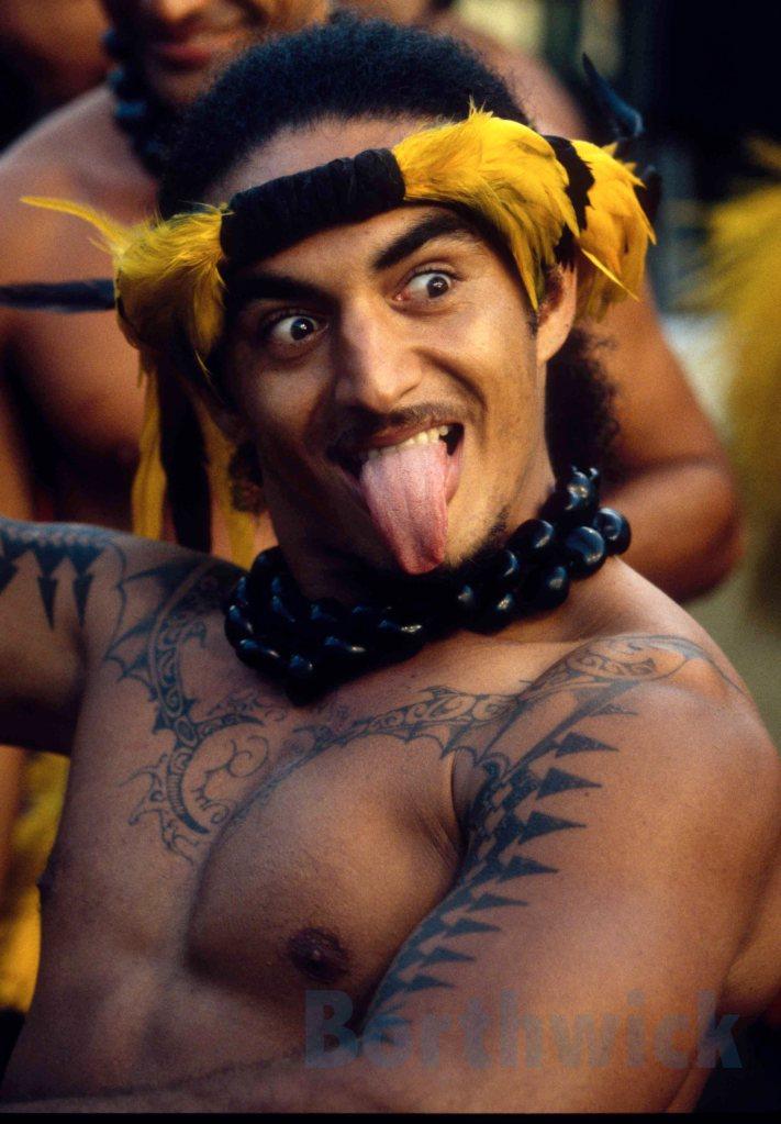 Gauguin Tahiti male dancer