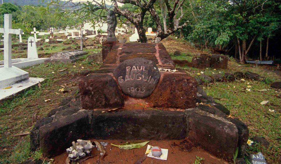 Gauguin's Grave