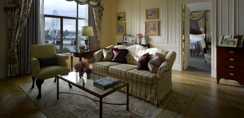 The Personality Suite, where Monet painted the Thames