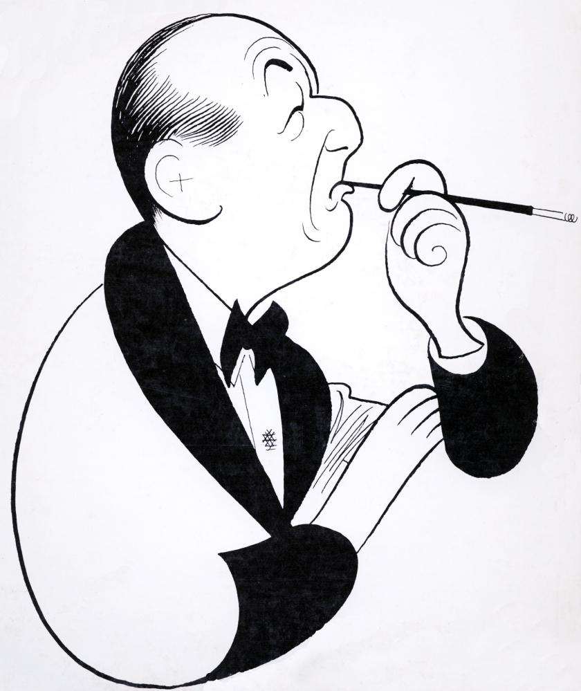 Noel Coward by Al Hirschfeld (1968)