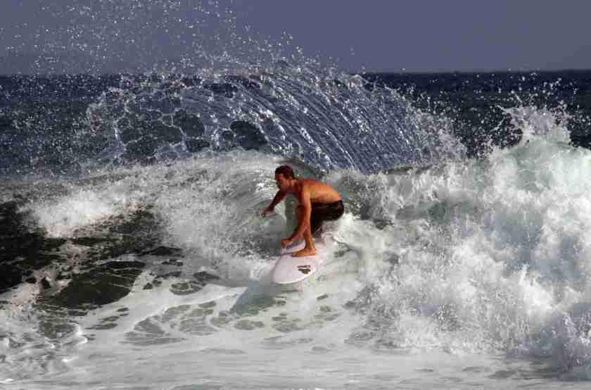 Bali Keramas surfer 4