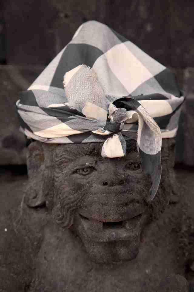 Bali Poleng monkey