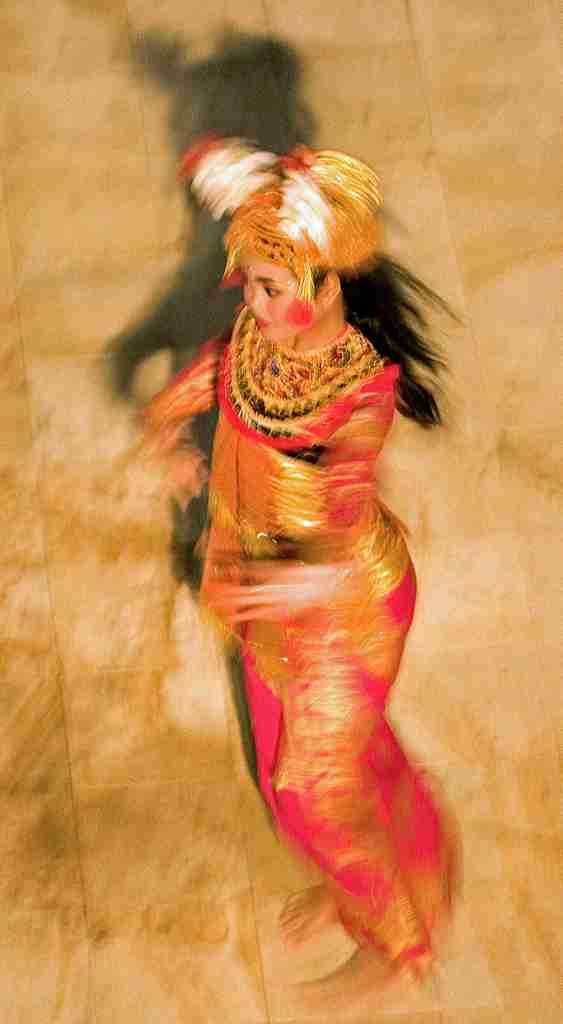 Balinese dancers, Nusa Dua, Bali. 2006.