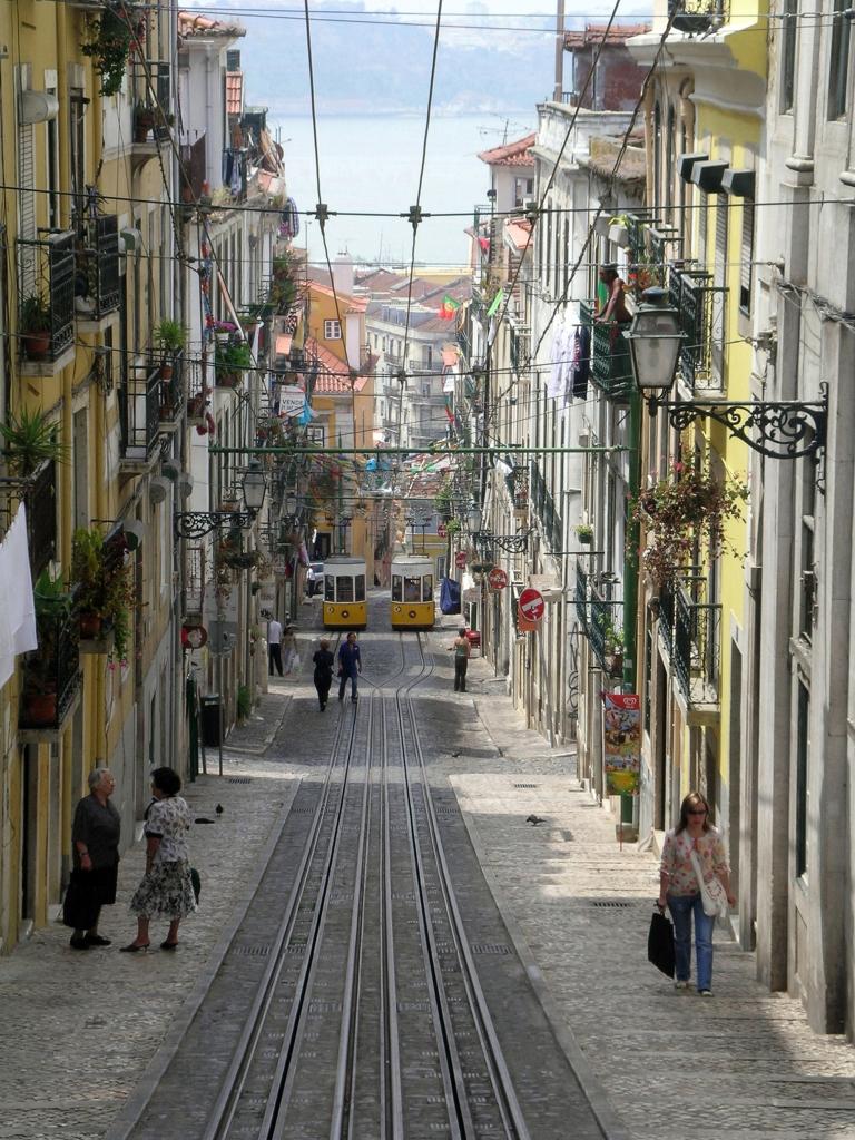 Lisbon - Portugal - Lisbon tramways by Glenn A. Baker
