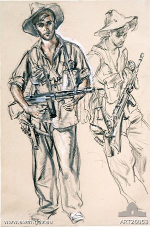 WWII Commando Peter Pinney by IvorHele