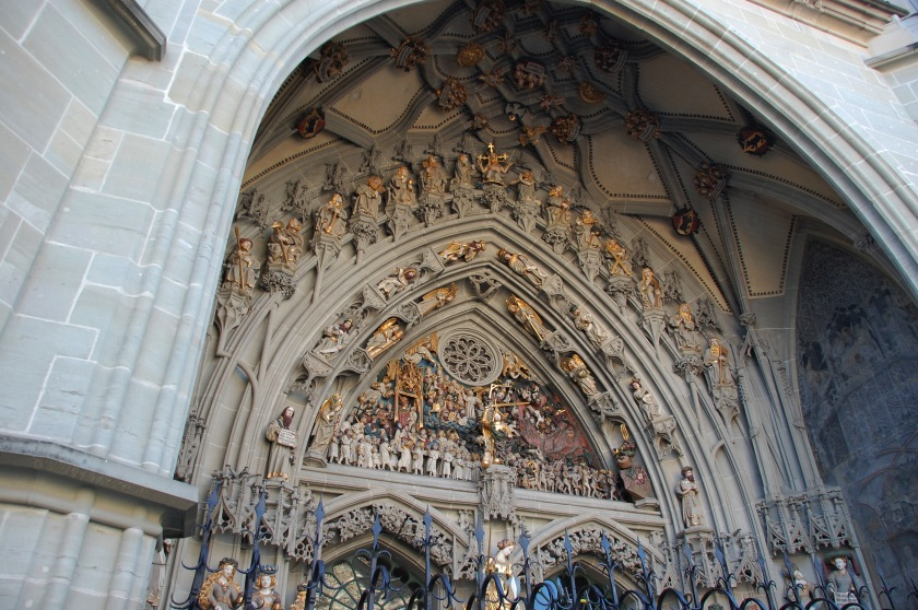 Bern's intricate cathedral art